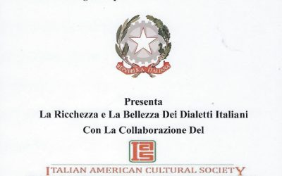 Ricchezza e Bellezza dei Dialetti Italiani
