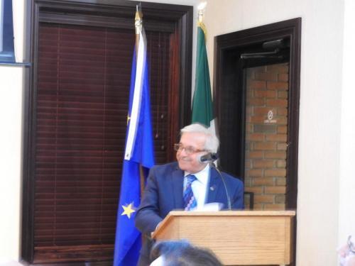 Il Presidente del Com.It.Es di Detroit, Domenico Ruggirello ringrazia tutti coloro che hanno contribuito al successo di questo evento ed a tutti coloro presenti.